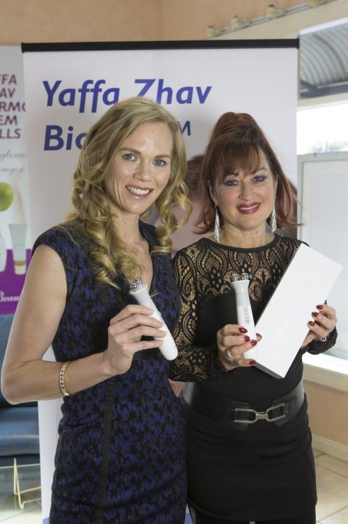 Left - Katrina Webb with Right - Yaffa Zhav CEO